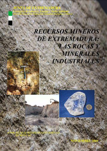 las rocas y minerales industriales - sigeo