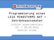 Programmierung eines LEGO MINDSTORMS NXT - Internat Schloss ...