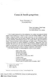 Camas de batalla gongorinas - Centro Virtual Cervantes