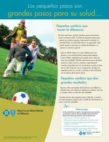 grandes pasos para su salud… - Blue Cross Blue Shield of Illinois