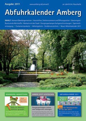 Abfuhrkalender Amberg - Stadt Amberg
