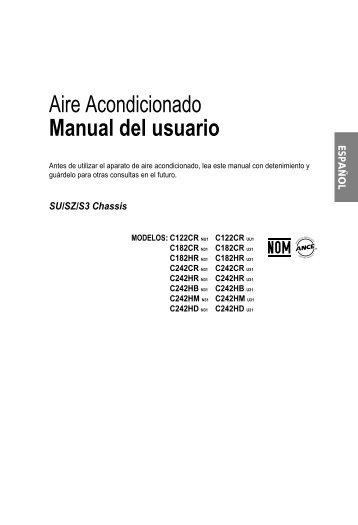 Aire Acondicionado Manual del usuario - LG Electronics