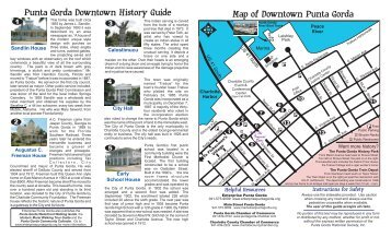 Downtown History Guide 2-20-08 - City of Punta Gorda