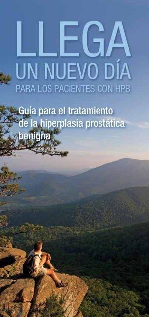 tratamiento de la hiperplasia prostática benigna natural