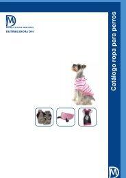 Catálogo ropa para perros - DM