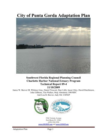 City of Punta Gorda Adaptation Plan - Climate Adaptation ...