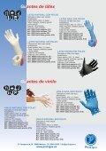 Vestuario y bolsas desechables - PROHIGEX - Page 4