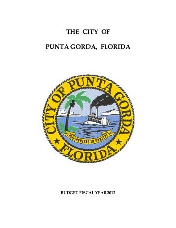 revenue budget summary fy 2012 - City of Punta Gorda