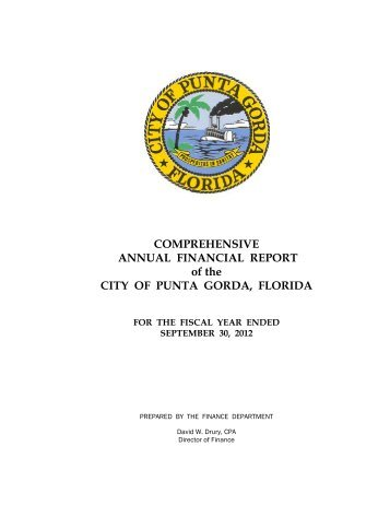CAFR - City of Punta Gorda