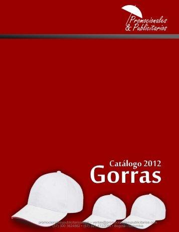 Catalogo Gorras - Promocionales & Publicitarios
