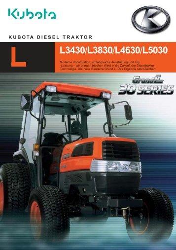 L3430/L3830/L4630/L5030 - Kubota
