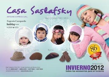 Descargar Catálogo Invierno - Casa Saslafsky de Arteone Express ...