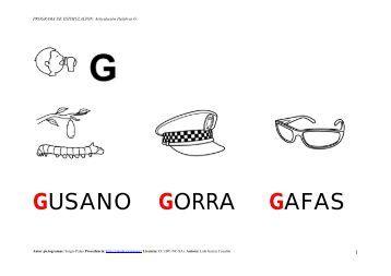 GUSANO GORRA GAFAS - Catedu