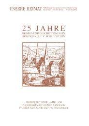 Unsere Heimat Nr. 19 - 2003 - Stadt Schlüchtern