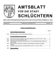 Amtsblatt Nr. 44 vom 02. November 2012 - Stadt Schlüchtern