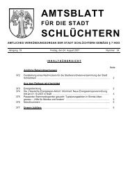 Amtsblatt Nr. 34 vom 24. August 2007 - Stadt Schlüchtern