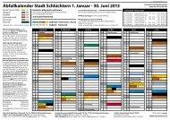 Abfallkalender 2013 - Ahlersbach und Herolz ... - Stadt Schlüchtern