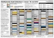 Abfallkalender 2012 – Breitenbach ... - Stadt Schlüchtern