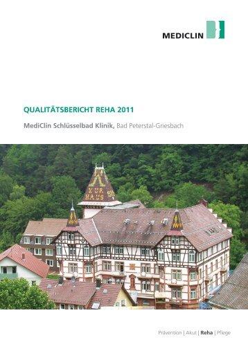 MediClin Schlüsselbad Klinik, Bad Peterstal-Griesbach (2011) (0,9 ...