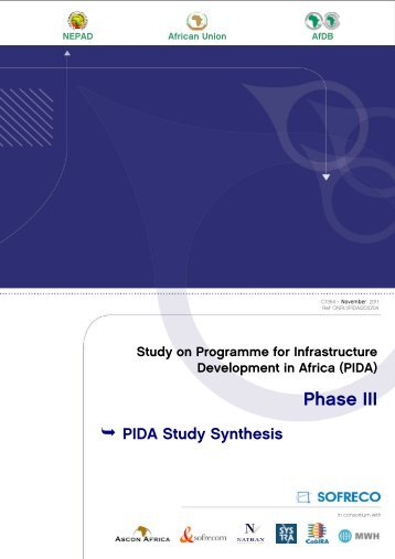 PIDA Study Synthesis - Infrastructure and Energy | African Union