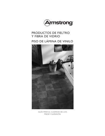 PRODUCTOS DE FIELTRO Y FIBRA DE VIDRIO PISO ... - Armstrong