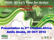PIDA: Africa's Time for Action - United Nations Economic ...