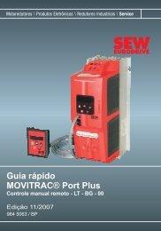 Movitrac Port Plus - Guia R.pido.fm - SEW Eurodrive