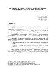 CONTRIBUIÇÃO DA PODA DE FORMAÇÃO E DO PLANTIO ...