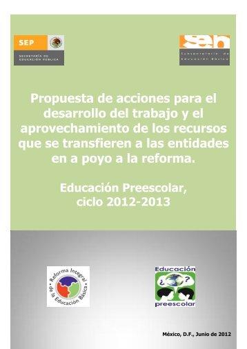 Propuesta de acciones para el desarrollo del trabajo y el ...