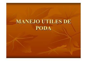MANEJO UTILES DE PODA - Educarm