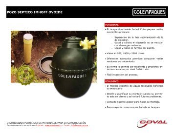 man colempaques pozo septico imhoff ovoide - Coval.com.co