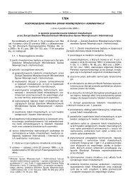 Dziennik Ustaw Nr 211 — 14124 — Poz. 1764 ROZPORZÑDZENIE ...