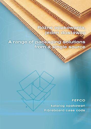Katalog - Fefco