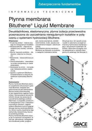 P∏ynna membrana Bituthene® Liquid Membrane - Grace ...