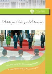 Polelo ya Pulo ya Palamente - Parliament of South Africa