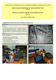 tehnologii si sisteme de telecomunicatii (tst )
