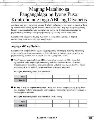 Maging Matalino sa Pangangalaga ng Iyong Puso: Kontrolin ang ...