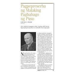Pagpepreserba ng Malaking Pagbabago ng Puso