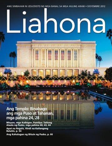 Ang Templo: Binabago ang mga Puso at Tahanan, mga pahina 24, 28