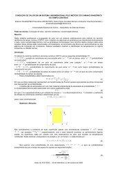 Condução de Calor em um Sistema Unidimensional pelo Método do ...