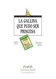 La gallina que pudo ser princesa - Anaya Infantil y Juvenil