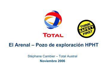 El Arenal – Pozo de exploración HPHT
