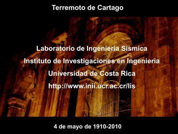 Diapositiva 1 - Colegio de Ingenieros Civiles de Costa Rica