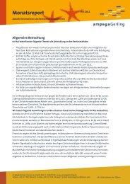 Monatsreport - Ampega Investment AG
