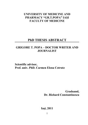 abstract of phd thesis in english literature 10 submit a phd with a short introduction or conclusion a quick way to move from a good doctoral thesis to one requiring major corrections is to write a short introduction and/or conclusion it is frustrating for examiners we are poised to tick the minor corrections box, and then we turn to a one- or two-page conclusion.