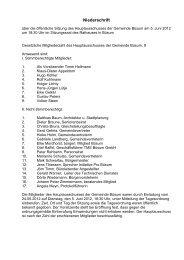 Sitzung vom 05.06.2012 - Amt Büsum