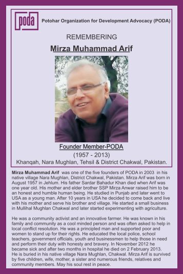 Mirza Arif Broucher Shahzad.cdr - Potohar Organization for ...