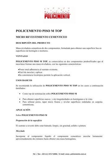 POLICEMENTO PISO M TOP _1_