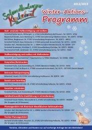 Winter-Aktions-Programm - Schmallenberger Kinderland