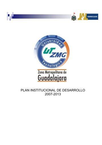 Plan Institucional de Desarrollo (PIDE) - UTZMG